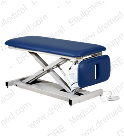 Clinton Space Saver Power Table with Drop Section - 80220