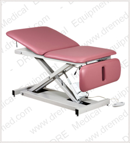 Clinton Extra Wide Bariatric Power Table with Adjustable Backrest & Drop Section - 84430