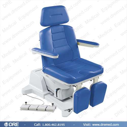 DRE Milano P50 Podiatry Chair blue