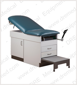 DRE Patient Exam Table pull-out foot stool