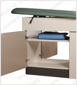 DRE Patient Exam Table storage