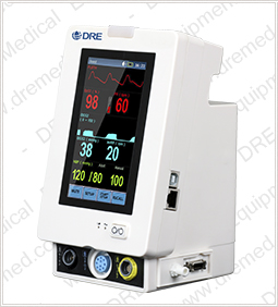 DRE Trax Patient Monitor Left