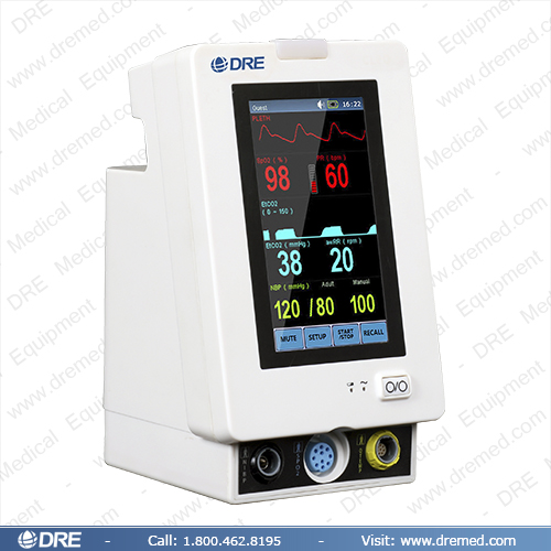DRE Trax Patient Monitor Right
