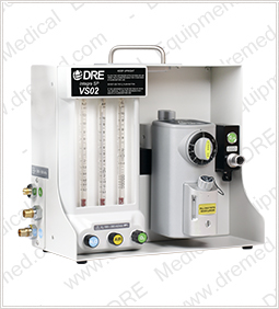 DRE Integra VSO2 Anesthesia Machine - side