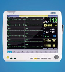 DRE Waveline Series Patient Monitors