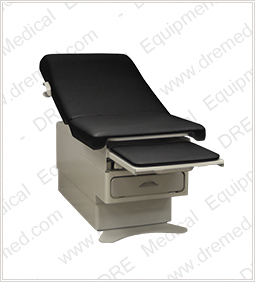 DRE Meridian Power Exam Table Leg Rest Black