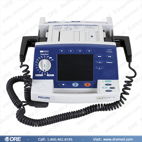 philips heartstart xl defibrillator instruction manual