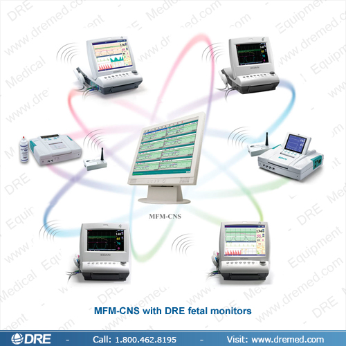 MFM-CNS Central Fetal/Maternal Monitoring System