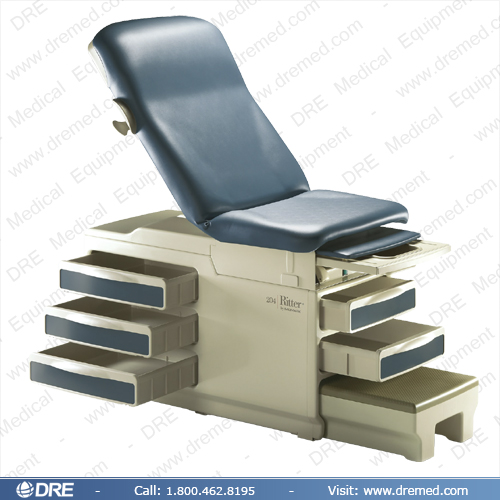Medical Equipment Ritter 204 Manual Exam Table