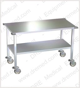 Delicieux ... DRE Stainless Steel Tables With Wheels
