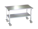 Stainless Steel Work Tables and Instrument Stands