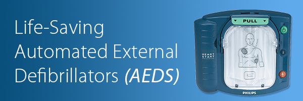 Life-Saving Automated External Defibrillators (AEDS)_Banner