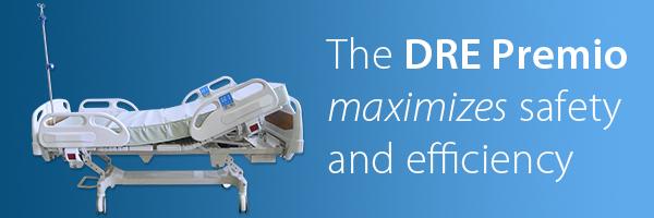 DRE Premio E250 Electric Hospital Bed