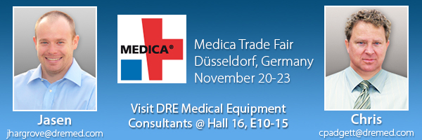 Visit our booth at Medica 2013