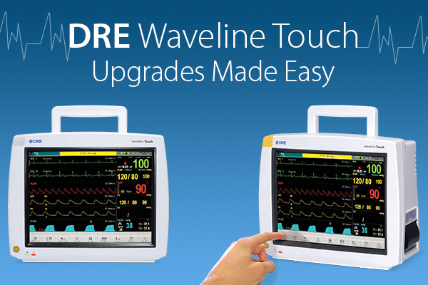 The upgrades to the DRE Waveline Touch monitors are designed to enhance the monitor's already substantial ease-of-use considerations and include a few key technological advancements.
