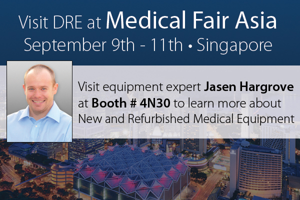 Visit Jasen in booth #4N30 to learn more about DRE's featured products.