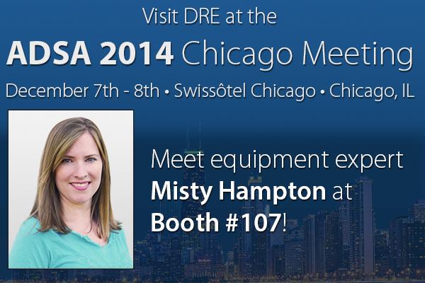 Meet equipment expert Misty Hampton at Booth #107!