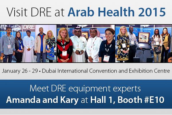 Visit DRE equipment experts Amanda and Kary at Hall 1, booth #E10!
