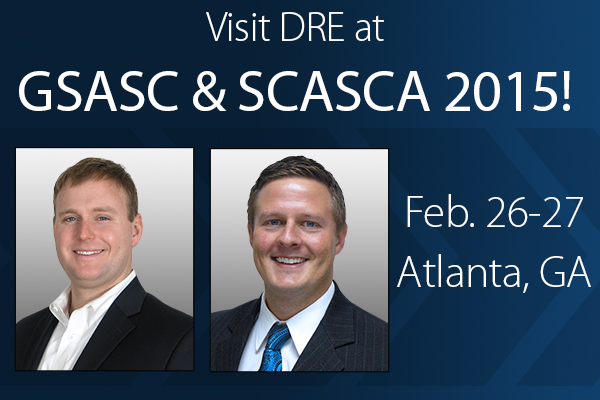 Visit DRE at GSASC & SCASCA 2015! Feb. 26-27 Atlanta, GA