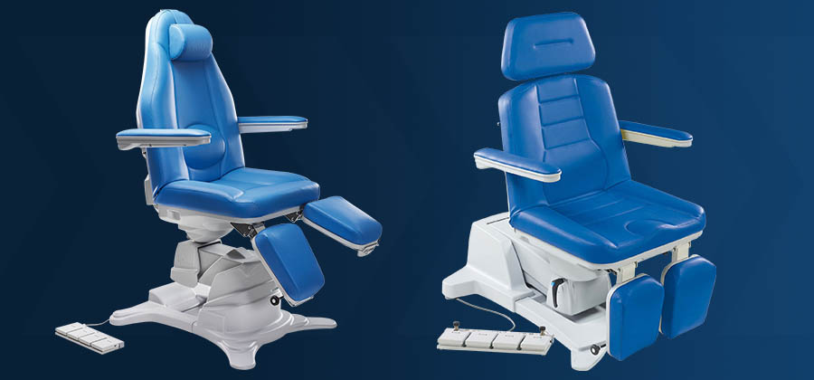 New Podiatry Chairs from DRE Increase Efficiency Cost Savings & podiatry chair | Medical Equipment Update