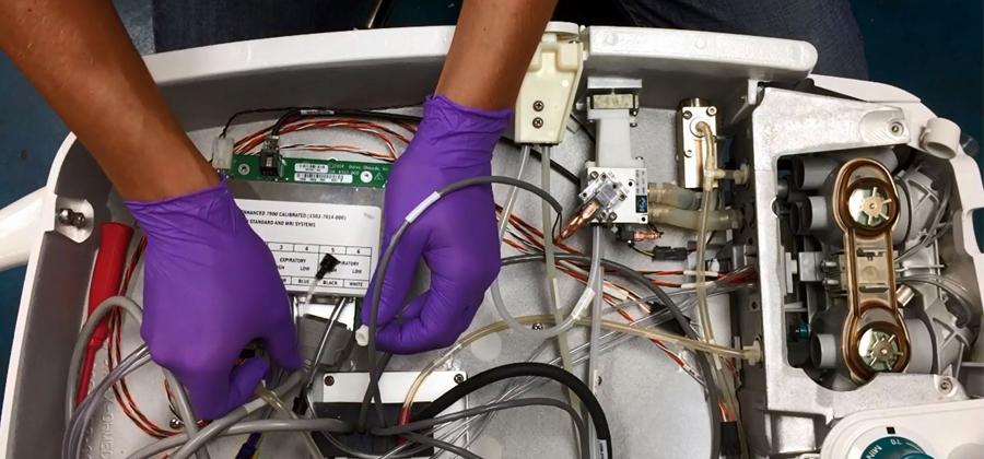 An Inside Look at DRE's Anesthesia Machine Refurbishing Process