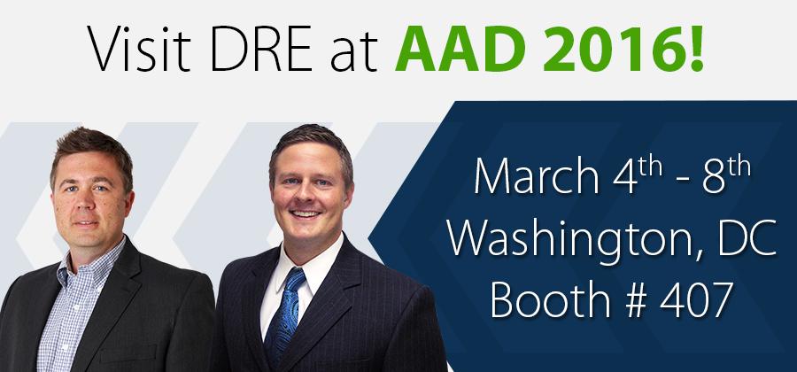 Visit DRE at AAD 2016!