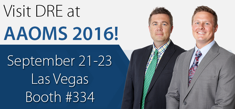 Visit DRE at AAOMS 2016!