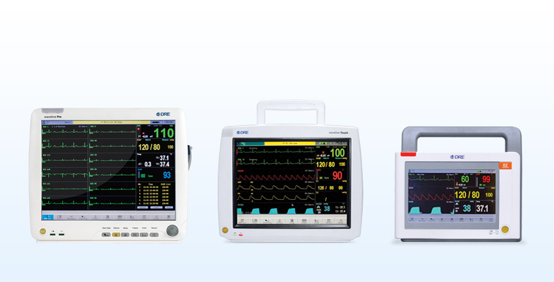 DRE makes it easy for you to find the right patient monitor for your facility with the DRE Waveline Series