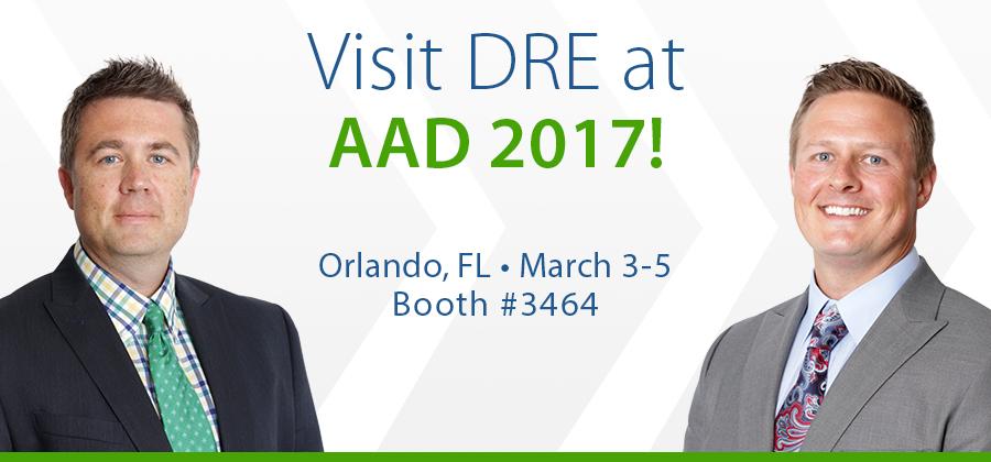 Visit DRE at AAD 2017!