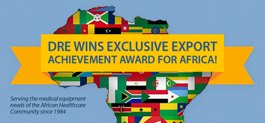 DRE Wins Exclusive Export Achievement Award
