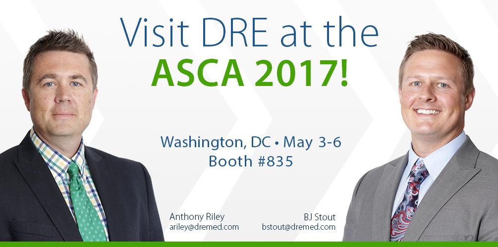 Visit DRE at ASCA 2017!