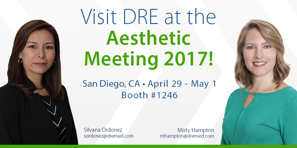 Visit DRE at the Aesthetic Meeting 2017!