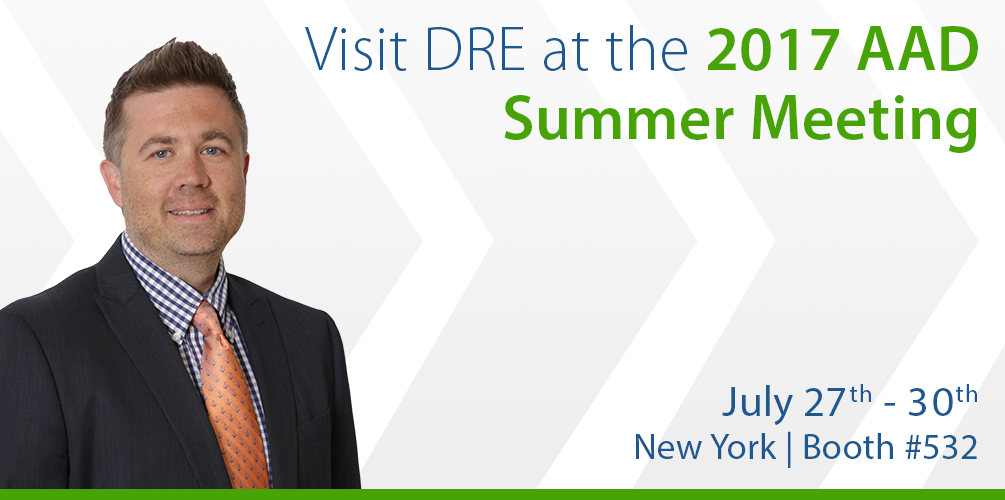 Visit DRE at the 2017 AAD Summer Meeting!
