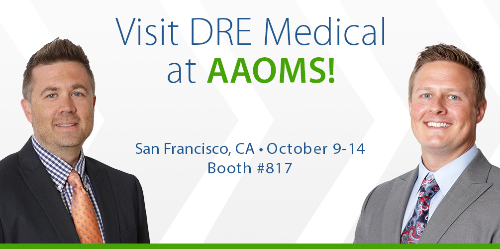 Visit DRE at AAOMS 2017!